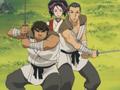 Taroza and Jiroza protecting Shigure.png