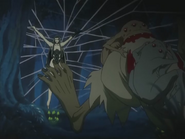 Mozuku getting eaten by Ubume's rodents