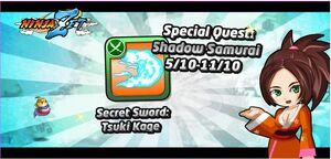 Special quest shadow samurai