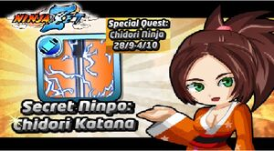 Special event chidori katana