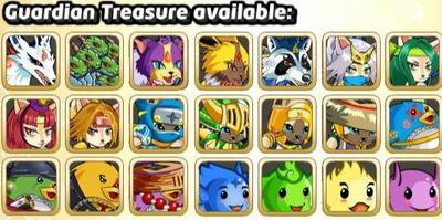 Guardian treasure