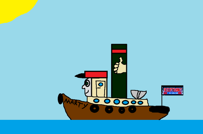 Marty the Tugboat