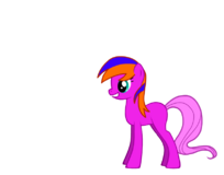 Cleo Felis as a Pony