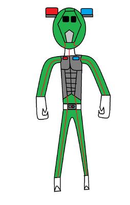 TokusouGreen Armor