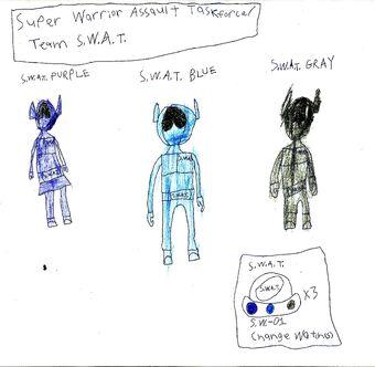 Super Warrior Assult Taskforce (Team S.W.A.T.)