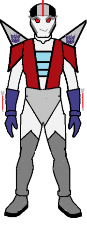 Starscream robot