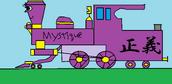 Mystique the Magic Steam Engine