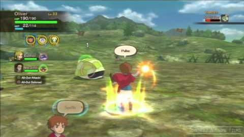 Ni No Kuni Shell Damage Bounty Hunt 100