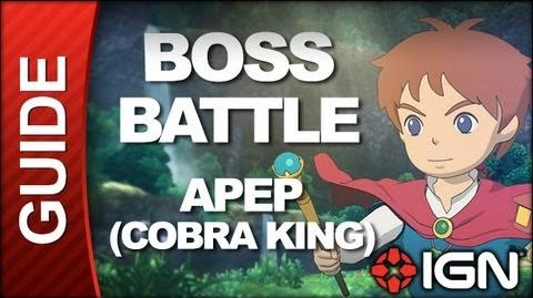 Ni No Kuni - Boss Battle Strategy Apep (King of Cobras)