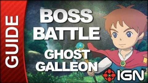 Ni No Kuni Wrath of the White Witch - Boss Battle Strategy Jetsam Cap'n Crossbones