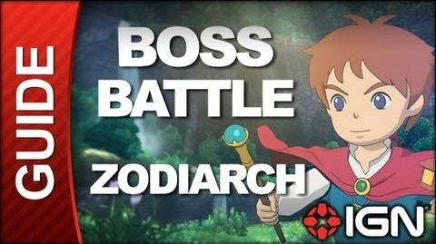 Ni No Kuni Wrath of the White Witch **SPOILERS** - Boss Battle Strategy The Zodiarchy (Final Boss)