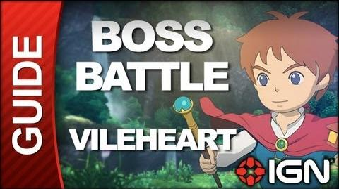 Ni No Kuni Wrath of the White Witch - Boss Battle Strategy Vileheart