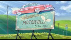 Motorville Sign