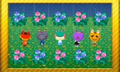 Animal Crossing New Leaf Set 59