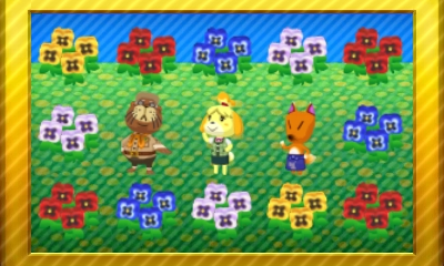 Animal Crossing New Leaf Set 49