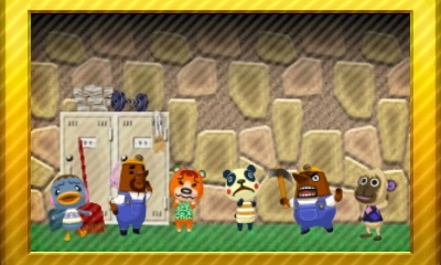 Animal Crossing New Leaf Set 29