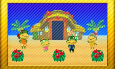 Animal Crossing New Leaf Set 32