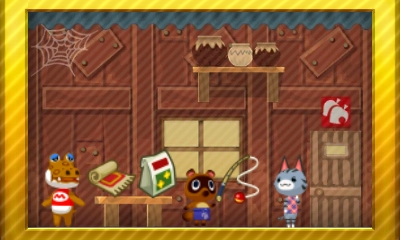 Animal Crossing New Leaf Set 17