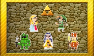 Legend of Zelda A Link Between Worlds Set 3