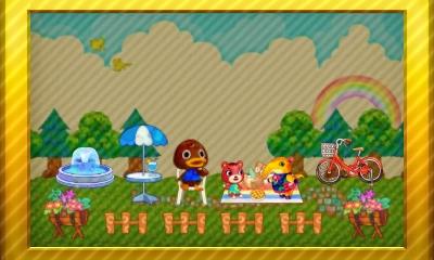 Animal Crossing Happy Home Designer Set 4