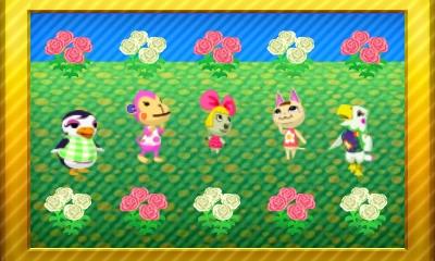 Animal Crossing New Leaf Set 63