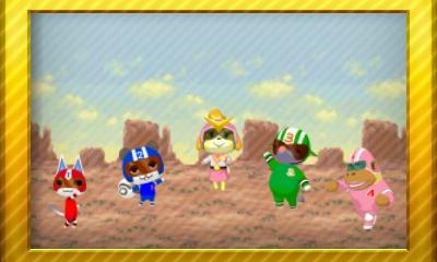 Animal Crossing New Leaf Set 54