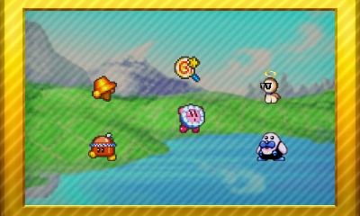 Kirby Keychain Series Set 4