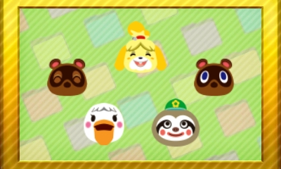 Animal Crossing New Leaf Set 24