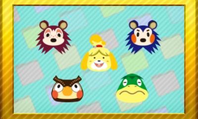 Animal Crossing New Leaf Set 25