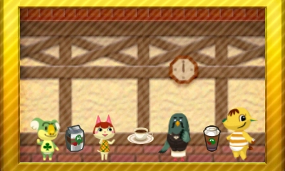 Animal Crossing New Leaf Set 31
