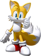 Team Sonic Racing Tails No Car