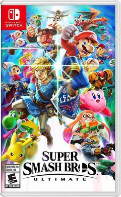 SSB Ultimate Final Rating Box Art NA