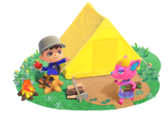 Animal Crossing New Horizons - Scene artwork 02