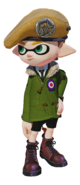 Splatoon - ModsCoat Millitary-look