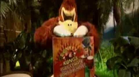 Donkey Konga Nintendo Gamecube Commercial (UK)