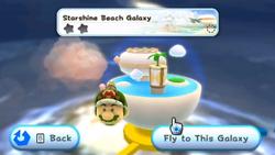 Starshine Beach Galaxy