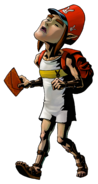 The Legend of Zelda Majora's Mask 3D - Character artwork 24