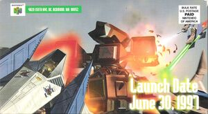 Star Fox 64 promotional video cover