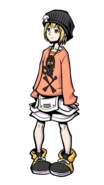 The World Ends with You Final Remix - Character Art - Rhyme 1