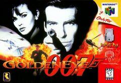 Goldeneye 007 Portada