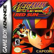 Mega Man Battle Network 4 Red Sun (NA)