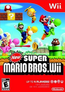 New Super Mario Bros Wii Portada