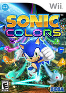 Sonic Colors (Wii) (NA)