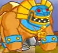 Swords & Soldiers Aztec sun giant