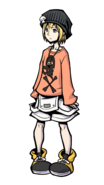 The World Ends with You Final Remix - Character Art - Rhyme 2