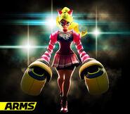 ARMS - Character Artwork - Ribbon Girl