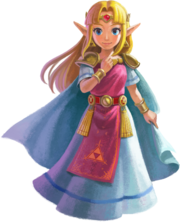 Princess Zelda (The Legend of Zelda A Link Between Worlds)