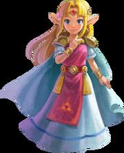 Princess Zelda (The Legend of Zelda A Link Between Worlds)