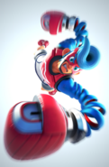Switch ARMS E32017 character 11 SpringMan