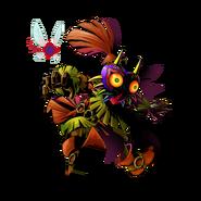 The Legend of Zelda Majora's Mask 3D - Character artwork 10